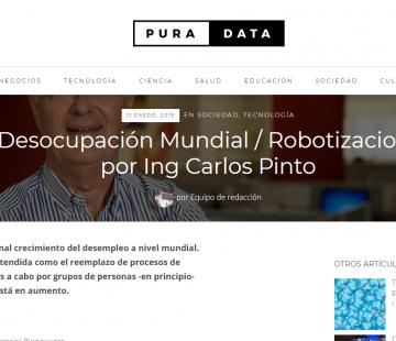 Desocupación mundial y robotización